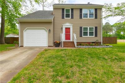 Chesapeake Residential New Listing: 2419 Southern Pines Dr