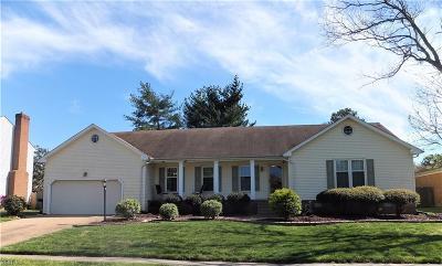 Virginia Beach Residential New Listing: 4445 Revere Dr