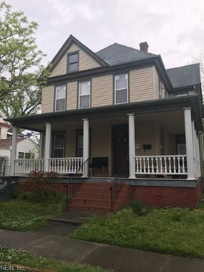 Norfolk VA Multi Family Home New Listing: $247,000