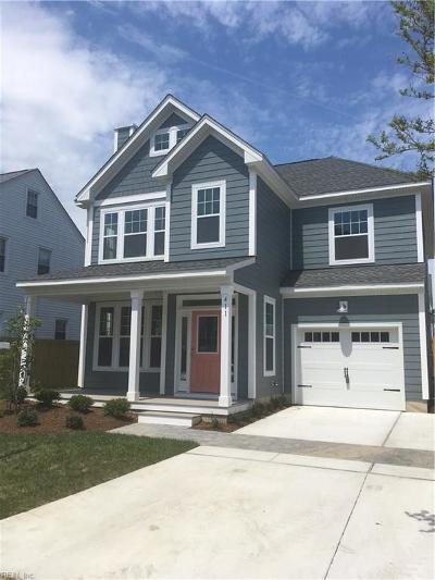 Virginia Beach Residential New Listing: 411 23rd St