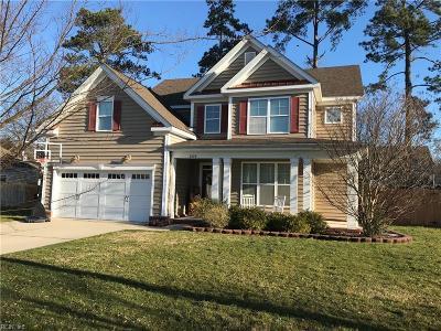 Virginia Beach Residential New Listing: 2420 Brush Creek Ln