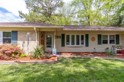 Virginia Beach Residential New Listing: 3700 Gladstone Dr