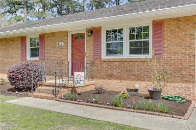 Newport News Residential New Listing: 318 Old Menchville Rd