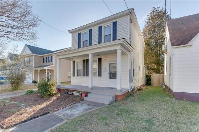 Norfolk Residential New Listing: 2719 Keller Ave