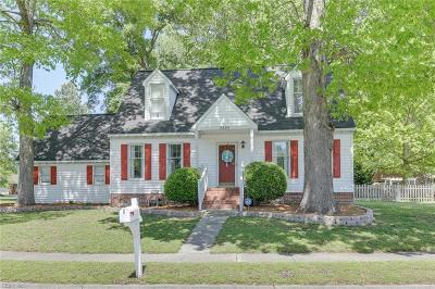 Chesapeake Residential New Listing: 2336 Southern Pines Dr