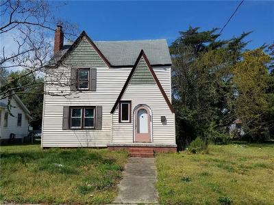 Newport News Residential New Listing: 855 Hampton Ave
