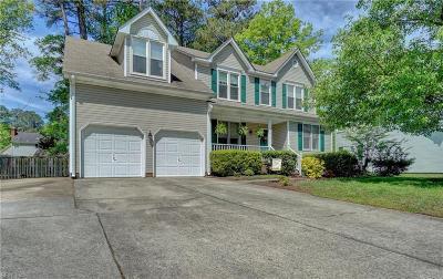 Chesapeake Residential New Listing: 3614 Elkton Dr