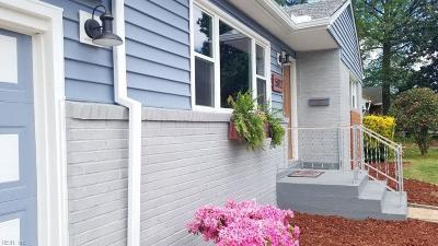 Virginia Beach Residential New Listing: 5812 Susquehanna Dr