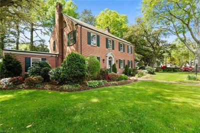 Norfolk Residential For Sale: 511 Talbot Hall Rd