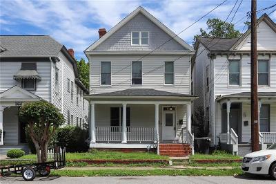 Portsmouth Multi Family Home For Sale: 1050 Ann St