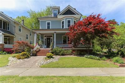 Norfolk Residential For Sale: 4313 Colonial Ave