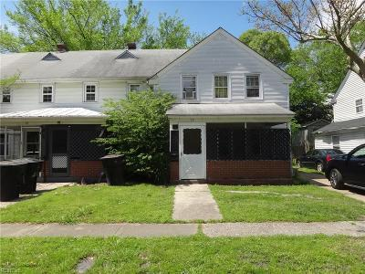 Portsmouth Multi Family Home Under Contract: 19 Emmons Pl