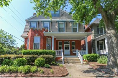 Norfolk Residential For Sale: 701 Westover Ave