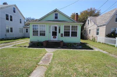 Norfolk Multi Family Home Under Contract: 2233 E Ocean View Ave