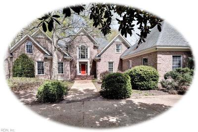 Williamsburg Residential For Sale: 224 Jeffersons Hundred