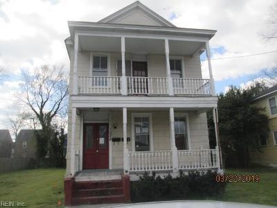 Portsmouth Multi Family Home For Sale: 1025 Ann St