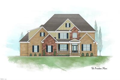 Chesapeake Residential For Sale: Lot 4 Thistley Ln