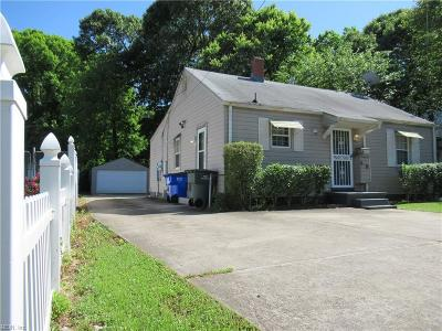 Norfolk Multi Family Home For Sale: 1265 Pall Mall St