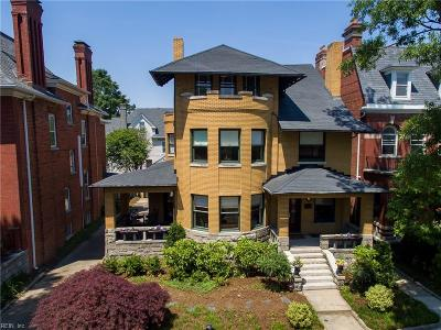 Norfolk Residential For Sale: 907 Colonial Ave