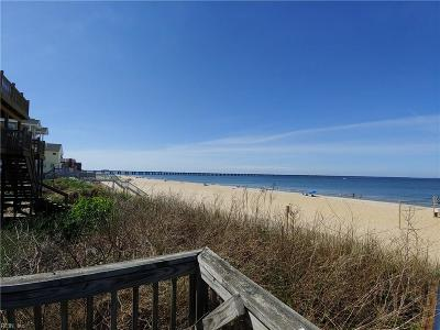 Virginia Beach Multi Family Home Under Contract: 4446 Gulls Quay