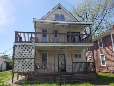 Newport News Multi Family Home Under Contract: 43 Cedar Ave