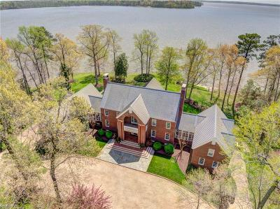 Williamsburg Residential For Sale: 22600 Cypress Point Rd
