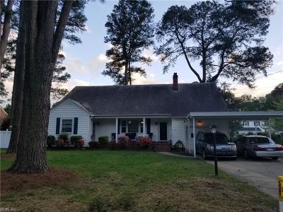 Portsmouth Residential For Sale: 4621 Winston Rd