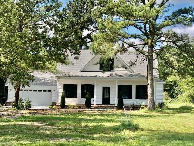 Pungo Residential For Sale: 4425 Blackwater Rd