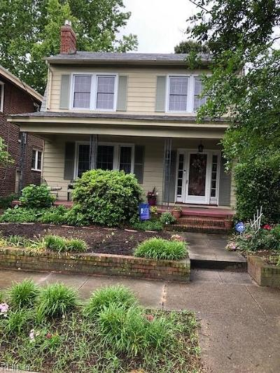 Norfolk Residential For Sale: 1023 Shirley Ave