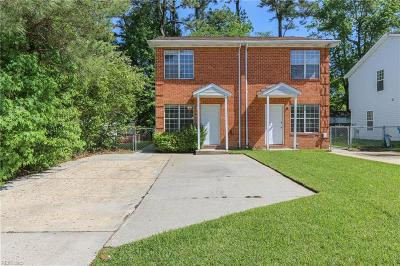 Virginia Beach Multi Family Home Under Contract: 1110 Carver Ave
