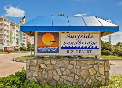 Sandbridge Beach Land/Farm For Sale: 3665 Sandpiper Rd #72