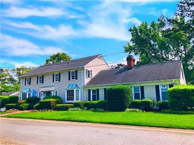 Norfolk Residential New Listing: 7607 Nancy Dr