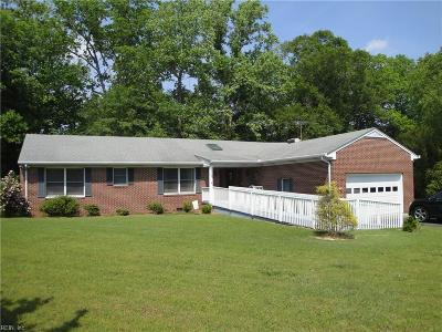 Suffolk Residential New Listing: 100 Ayers Creek Ln