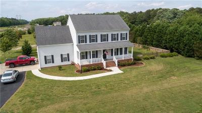 Chesapeake Residential New Listing: 625 W Saint Brides Rd