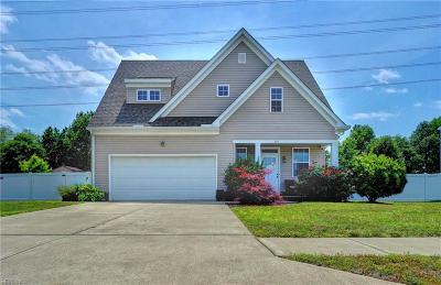 Chesapeake Residential New Listing: 707 Tyler Way