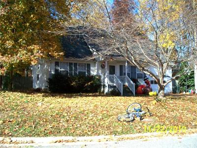 Williamsburg Residential Under Contract: 109 Catawba Ct