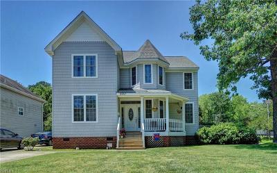 Norfolk Residential New Listing: 8957 Hammett Ave