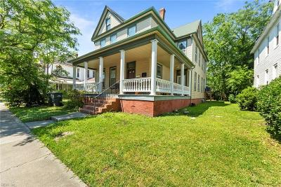 Norfolk Multi Family Home New Listing: 116 Hardy Ave