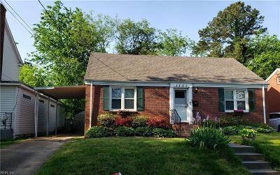 Norfolk Residential New Listing: 1731 Ashland Ave