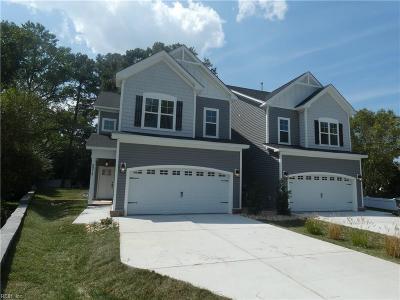 Virginia Beach Residential New Listing: 2219 West Berrie Cir