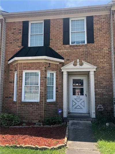 Chesapeake Residential New Listing: 713 Byrd Ct