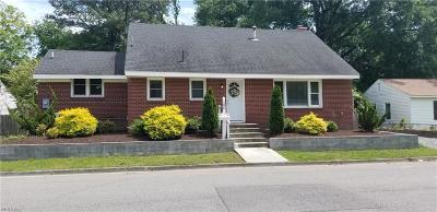 Hampton VA Residential New Listing: $155,000