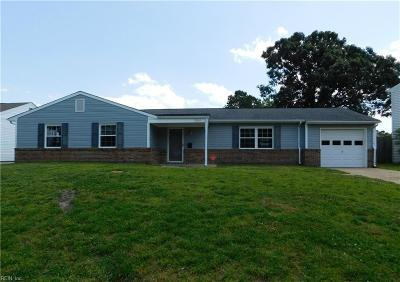 Virginia Beach Residential New Listing: 3805 Bent Branch Dr