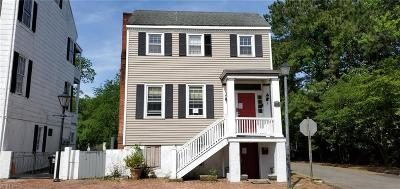 Portsmouth Multi Family Home New Listing: 400 Dinwiddie St