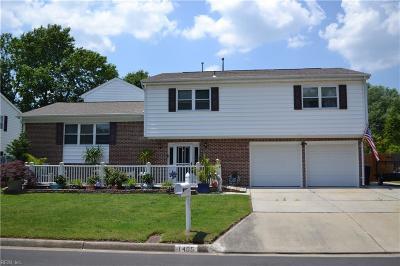 Virginia Beach Residential New Listing: 1405 Talisman Cir