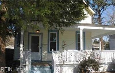 Hampton VA Residential New Listing: $99,000