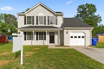 Suffolk Residential New Listing: 853 Haskins Dr