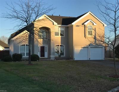 Virginia Beach Residential New Listing: 4441 Crow Wing Dr