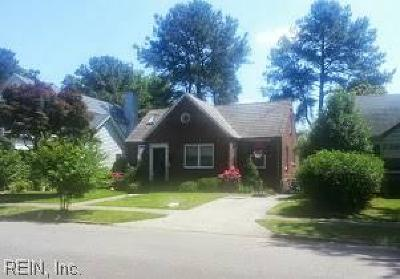 Norfolk Residential New Listing: 1408 Mallory Ct
