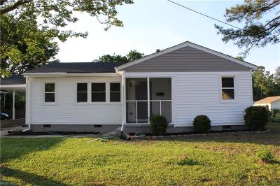 Suffolk Residential New Listing: 2220 Florida Ave